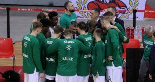 Κορονοϊός: Ο υπουργός Υγείας της Λιθουανίας θέλει αναβολή ή άδειο γήπεδο στο Ζαλγκίρις - Αρμάνι Μιλάνο