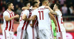 Ολυμπιακός - Ξάνθη: 2-0 το σκορ του πρώτου ημιχρόνου