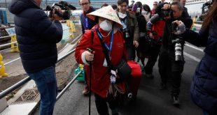 Κορονοϊός: Αποβιβάστηκαν στη Γιοκοχάμα εκατοντάδες επιβάτες του κρουαζιερόπλοιου Diamond Princess