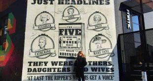 Μια τοιχογραφία για «να αποκτήσουν φωνή» τα θύματα του Τζακ του Αντεροβγάλτη