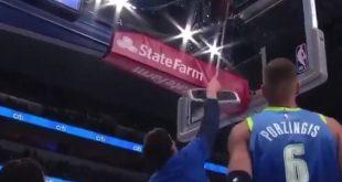 NBA: Ο Μαριάνοβιτς πήρε σκούπα για να κατεβάσει την μπάλα από την μπασκέτα