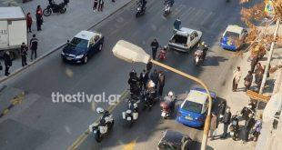 Αυτοκίνητο παρέσυρε πεζή στο κέντρο της Θεσσαλονίκης