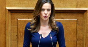Αχτσιόγλου: «Η κυβέρνηση, δυστυχώς, κινείται με το