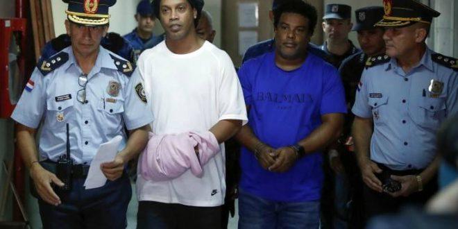 Στη φυλακή και σε κελί με εμπόρους ναρκωτικών ο Ροναλντίνιο