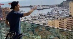 Κορονοϊός: Ο Φάμπρεγας βρίζει τους γείτονες του από το μπαλκόνι