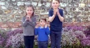 Κορονοϊός: Τζορτζ, Σάρλοτ και Λούις χειροκροτούν τους γιατρούς σε ένα βίντεο που κάνει θραύση