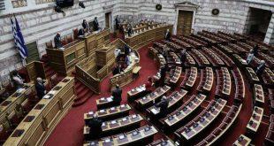 Ολιγόλεπτες προβλέπεται να είναι σήμερα οι ομιλίες των πολιτικών αρχηγών στη Βουλή
