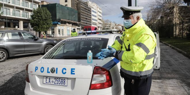 Κορονοϊός: Διαχωριστικό στα περιπολικά ζητούν για την προστασία τους οι αστυνομικοί