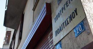 Δέσμη έκτακτων μέτρων του υπουργείου Πολιτισμού για την αντιμετώπιση των επιπτώσεων της πανδημίας