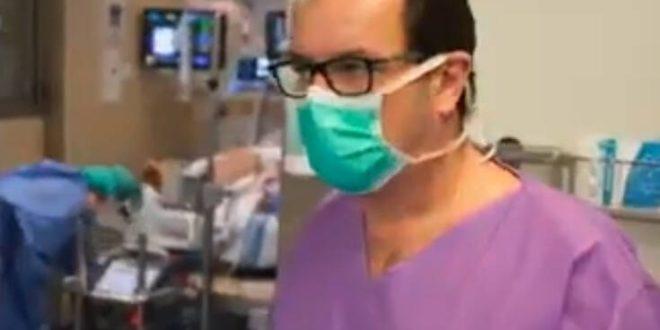Κορονοϊός: Συγκλονιστικό βίντεο μέσα από την Εντατική σε νοσοκομείο της Βαρκελώνης