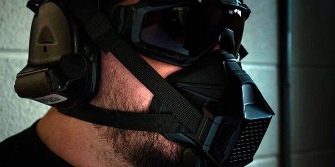 Η μάσκα που κάνει ακόμα και για… πόλεμο