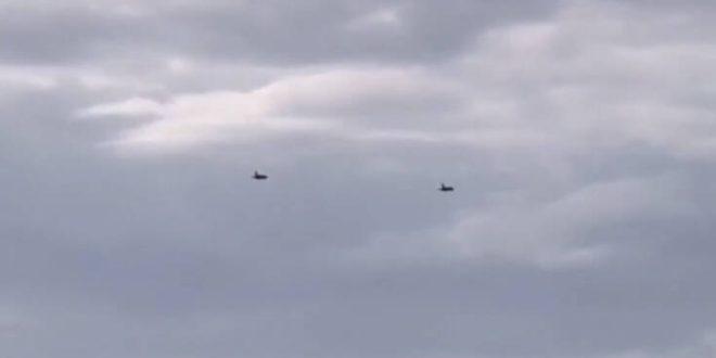 Κέρκυρα: «Βρόντηξαν» οι ουρανοί από τις πτήσεις των F16
