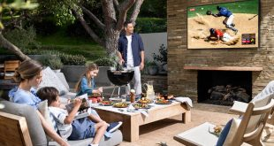 Η Samsung λάνσαρε 4Κ τηλεόραση... εξωτερικού χώρου