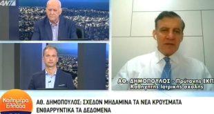 Δημόπουλος: Ο κορονοϊός ενδεχομένως να επιστρέψει το φθινόπωρο