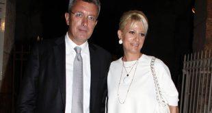 Νίκος Χατζηνικολάου – Κρίστη Τσολακάκη: Η τρυφερή φωτογραφία του γάμου τους, πριν 16 χρόνια
