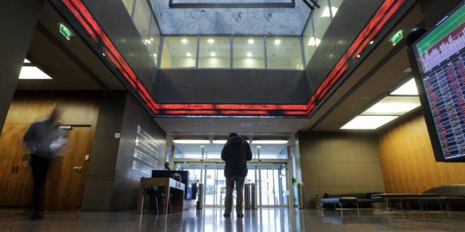 Με ήπια πτώση 0,65% το κλείσιμο της συνεδρίασης στο Χρηματιστήριο Αθηνών
