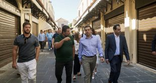 Ρόδος: Τις προτάσεις του ΣΥΡΙΖΑ για την ενίσχυση των επιχειρήσεων παρουσίασε ο Αλέξης Τσίπρας
