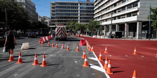 Κίνηση τώρα: Μποτιλιάρισμα στο κέντρο της Αθήνας