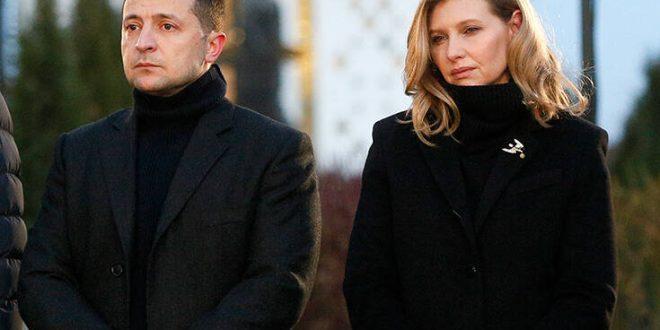 Ουκρανία: Η σύζυγος του προέδρου Ζελένσκι βρέθηκε θετική στον κορονοϊό