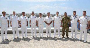 Στο Αρχηγείο του Λιμενικού Σώματος βρέθηκε ο Ακόλουθος Άμυνας της Πρεσβείας των ΗΠΑ