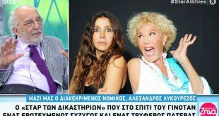 Αλέξανδρος Λυκουρέζος: Η αντίδρασή του όταν ρωτήθηκε για τη συμφιλίωση Μάρθας Κουτουμάνου και Μαρίας–Ελένης