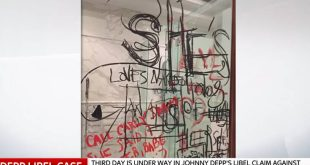 Ο Τζόνι Ντεπ έγραψε «σ'αγαπώ» με το αίμα του - Νέες αποκαλύψεις για την σχέση του με την Άμπερ Χερντ