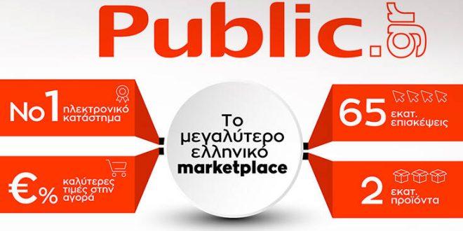 Το Retail του μέλλοντος είναι ηλεκτρονικό και το Public, ο No1 ecommerce retailer στην ελληνική αγορά, θα έχει ηγετική θέση