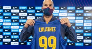 Νικ Καλάθης: Έβαλε μάσκα και παρουσιάστηκε από την Μπαρτσελόνα