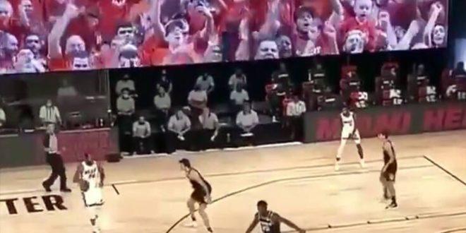 Οι φίλαθλοι στο NBA θα βρίσκονται στις εξέδρες σε γιγαντοοθόνες