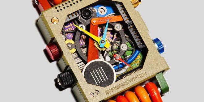 Το εκπληκτικό ρολόι που φτιάχνεται από ανακυκλωμένα προϊόντα τεχνολογίας
