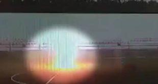 Βίντεο σοκ: Η στιγμή που κεραυνός χτυπάει τερματοφύλακα