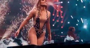 Ο σέξι χορός της Τζένιφερ Λόπεζ με σούπερ αποκαλυπτικό κορμάκι κόβει την ανάσα