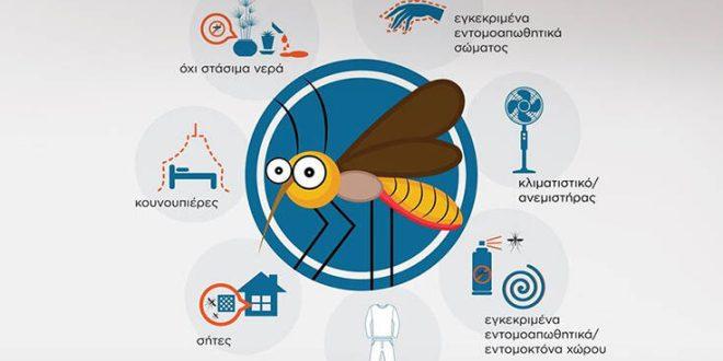 Μεγάλη προσοχή με τα κουνούπια: Οδηγίες προφύλαξης από τον ΕΟΔΥ - Τι να κάνουμε σε σπίτι και εργασία