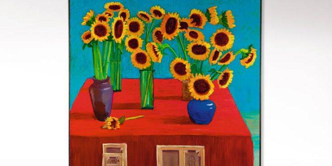Πουλήθηκε 14,8 εκατ. δολάρια ο πίνακας «30 Ηλιοτρόπια» του Ντέιβιντ Χόκνεϊ