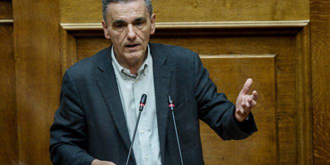 Τσακαλώτος για σχέδιο Πισσαρίδη: Περισσότεροι φόροι για τους πολλούς, φοροελαφρύνσεις για τους λίγους