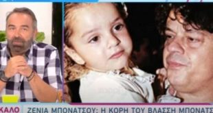 Το άγνωστο περιστατικό στη βάφτιση της Ζένιας με πρωταγωνιστή τον πατέρα της Βλάσση Μπονάτσο