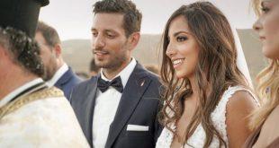 «Σ' αγαπώ πολύ» - Η ανάρτηση του νιόπαντρου βουλευτή Κώστα Κυρανάκη προς τη σύζυγό του