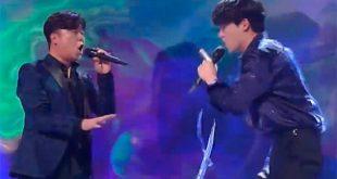 Τραγούδησαν στα ελληνικά Γιώργο Νταλάρα σε talent show στη Νότια Κορέα και αποθεώθηκαν