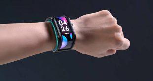 Το έξυπνο ρολόι που μπορεί και τυλίγει στον καρπό σου οθόνη αφής 4 ιντσών