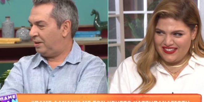 Χρήστος Χατζηπαναγιώτης στο «Πάμε Δανάη»: «Την Βίκυ Σταυροπούλου την γνώρισα όταν ήταν έγκυος στη Δανάη Μπάρκα