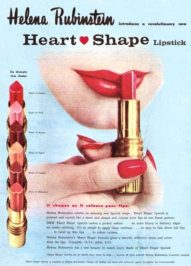 1960 heart shaped