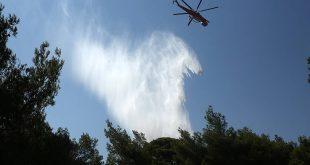 Πολύ υψηλός κίνδυνος πυρκαγιάς το Σάββατο σε πέντε περιφέρειες