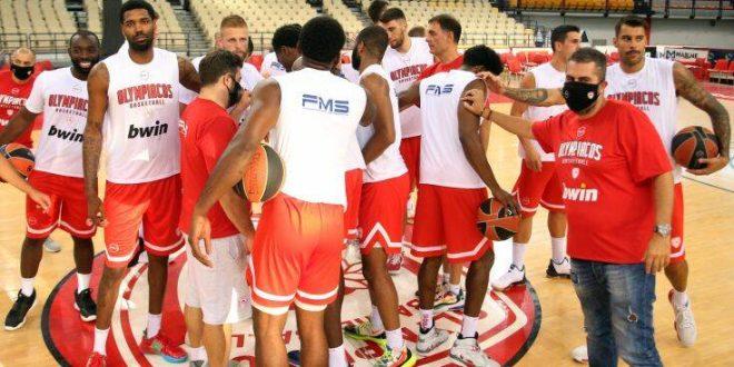 Κρούσμα κορονοϊού στην ομάδα μπάσκετ του Ολυμπιακού