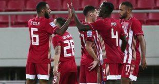 Χαλαρή νίκη για τον Ολυμπιακό, 2-0 τον Παναιτωλικό