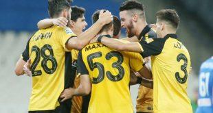 Ξεκούραστη νίκη η ΑΕΚ, 3-0 τη Λαμία στο ΟΑΚΑ