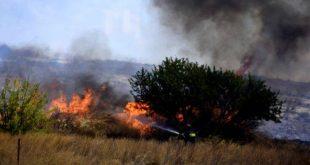 Μεγάλη φωτιά στο Σοφικό Κορινθίας: Εκκενώνονται οικισμοί κι ένα μοναστήρι