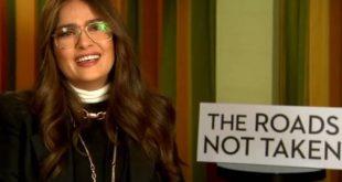 Η Σάλμα Χάγιεκ σε Θοδωρή Κουτσογιαννόπουλο και σε άπταιστα ελληνικά: «Μου αρέσουν τα μάτια σου»