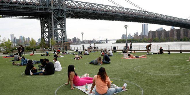 ΗΠΑ: Ρεκόρ τετραμήνου στα κρούσματα κορονοϊού κατέγραψε η Νέα Υόρκη