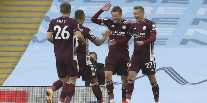 Premier League: Η Λέστερ διέλυσε με 5-2 τη Σίτι στο Μάντσεστερ