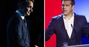 Δημοσκόπηση GPO: Επικράτηση Μητσοτάκη έναντι Τσίπρα στη ΔΕΘ – Ποια η διαφορά ΝΔ και ΣΥΡΙΖΑ στη Θεσσαλονίκη